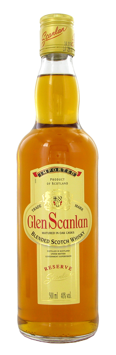 Glen Scanlan Blended Scotch Whiskey 3 y.o.