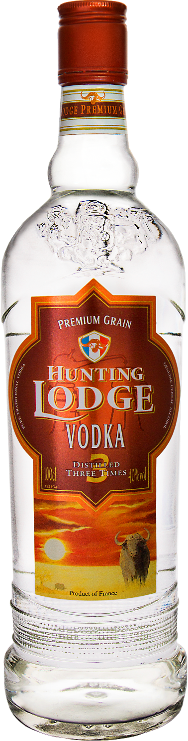 Hunting Lodge Vodka – Distilled 3 Times