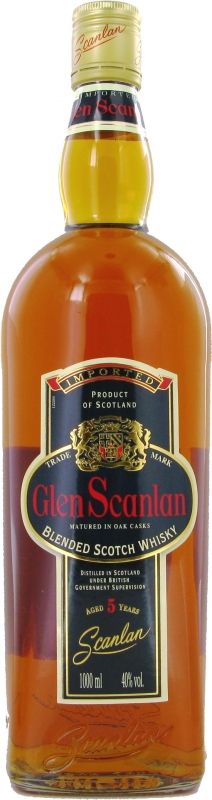 Glen Scanlan Blended Scotch Whiskey 5 y.o.