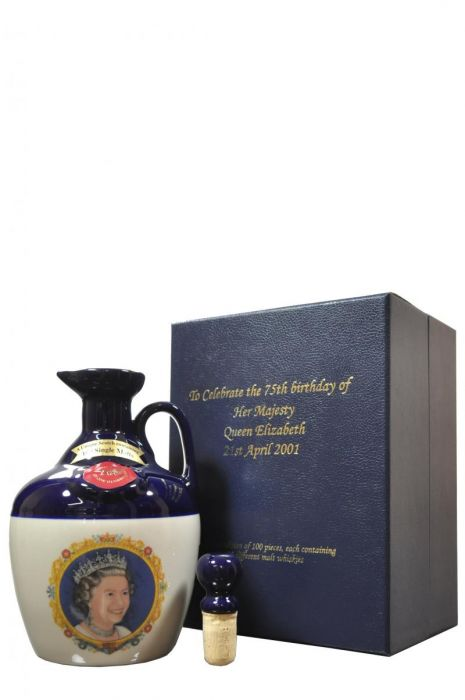 Rutherford's Scotch Whisky Decanter Queen Elizabeth II